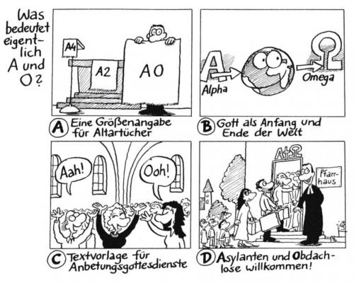 Was bedeutet eigentlich A und O?