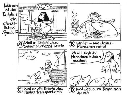 Warum ist Der Delphin ein christliches Symbol