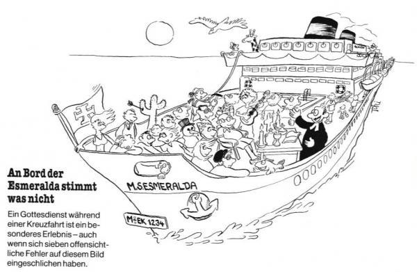An Bord der Esmeralda stimmt was nicht