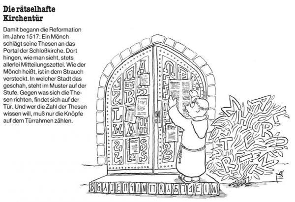 Die rätselhafte Kirchentür