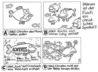 Warum ist der Fisch ein christliches Symbol