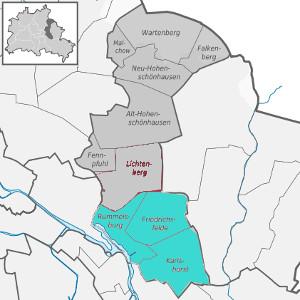Lage der Paul-Gerhardt-Gemeinde