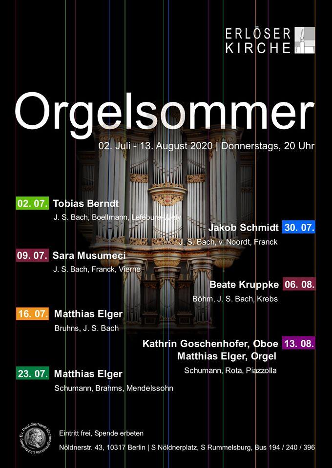 Orgelsommer in Erlöser